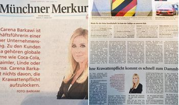 Pic: Interview Carena Barkawi Münchner Merkur