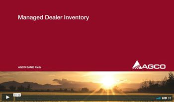 Pic: AGCO Managed Dealer Inventory